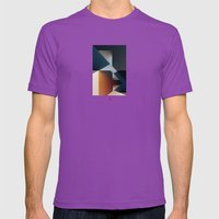 Disjointed Mens Fitted Tee Ultraviolet SMALL