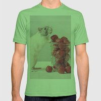 Snoozy Mens Fitted Tee Grass SMALL