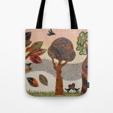Birds Refuge Tote Bag