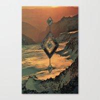 Canvas Print featuring Ignacio-Lume by Psychonautical