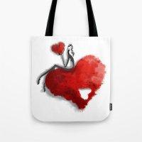 Heart Girls I Tote Bag
