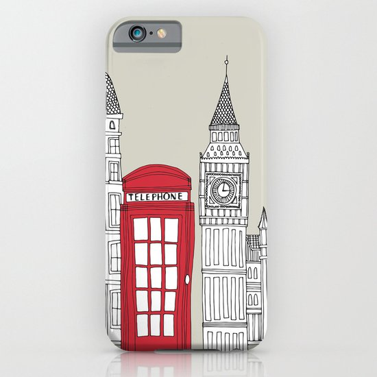 London Red Telephone Box iPhone & iPod Case