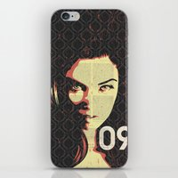 Fashion Woman iPhone & iPod Skin