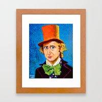 Wonka Framed Art Print