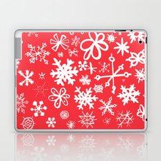 Snowflakes Laptop & iPad Skin