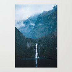 Majestic Milford Sound Canvas Print
