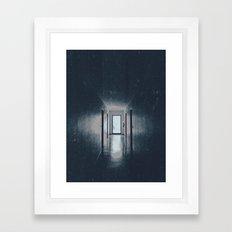 No Darkness Framed Art Print