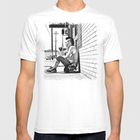 Tacoma Skater Mens Fitted Tee White SMALL