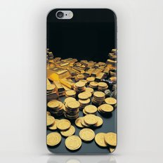 Gold Coins iPhone & iPod Skin