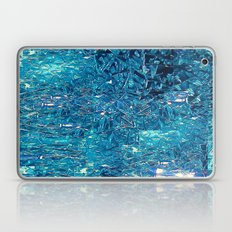 Broken and blue Laptop & iPad Skin