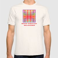 Mod Squad Bloom Mens Fitted Tee Natural SMALL