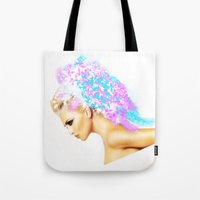 THE BRIGHT SIDE OF AN ANGEL Tote Bag