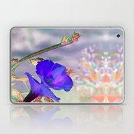Laptop & iPad Skin featuring Blue Glories In The Morn… by Bella Mahri-PhotoArt…