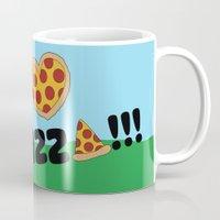 Paco Love Pizza Mug