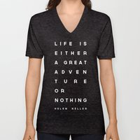 Adventure or Nothing Unisex V-Neck