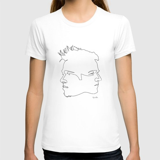 One line Fight Club T-shirt