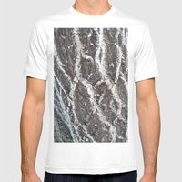 BARK Mens Fitted Tee White SMALL