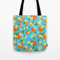 Orange Blossom Daydreams Tote Bag