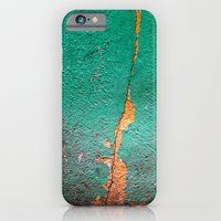 Cracked wall iPhone 6 Slim Case