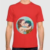 Moonrise Kingdom Mens Fitted Tee Red SMALL