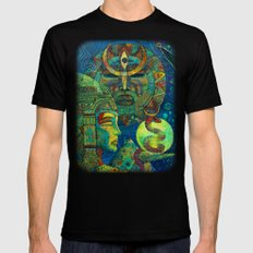 Golden Embrio SMALL Black Mens Fitted Tee