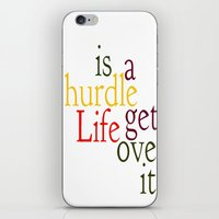Hurdle 2 iPhone & iPod Skin