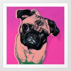 Pug #1 Art Print
