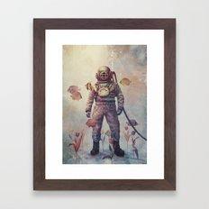 Deep Sea Garden  Framed Art Print
