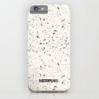 Retro Speckle Print - Bone iPhone 6 Slim Case