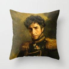 Bob Dylan - replaceface Throw Pillow