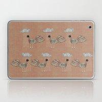 Birds in Rain Laptop & iPad Skin