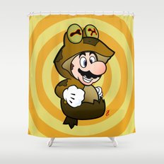All Glory to the Mario Bros! Shower Curtain