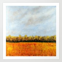 Art Print featuring Oakdale Nature Preserve by Eric Weiand