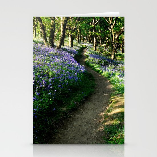Bluebell Woods Stationery Card