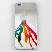 Rainbow Spill iPhone & iPod Skin