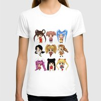 anime T-shirts featuring Anime Pigtails by artwaste