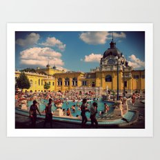 Turkish Baths Art Print
