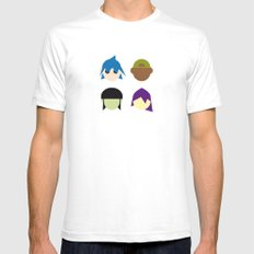 Famous Capsules - Gorillaz Mens Fitted Tee SMALL White
