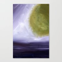 Abstract Space Canvas Print