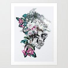 Momento Mori Rev V Art Print