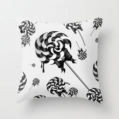 Goth Lollies Throw Pillow