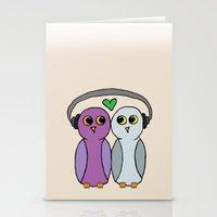 Hootbeats Stationery Cards