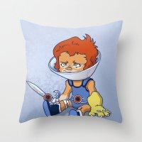 Lion-Ow Throw Pillow