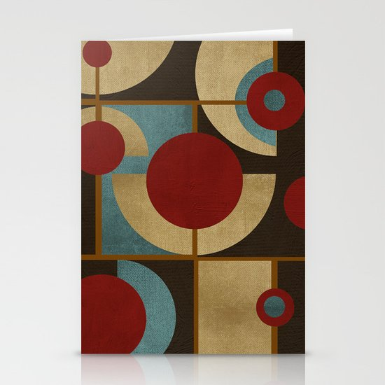 Textures/Abstract 98 Stationery Card