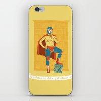 Lucha Library iPhone & iPod Skin