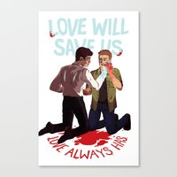 Love Will Save Us Canvas Print