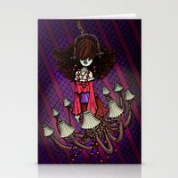 Ghost in the Haunted House by RonkyTonk Stationery Cards