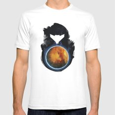 Metroid Prime SMALL Mens Fitted Tee White