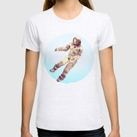 Time & Space Womens Fitted Tee Ash Grey SMALL