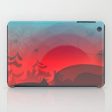 Winter Sunset iPad Case